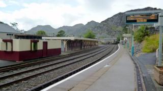 Blaenau Ffestiniog railway station