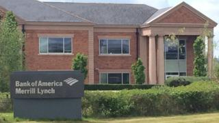 Bank of America's Chester office