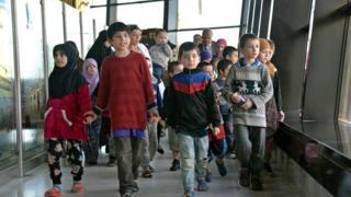 اطفال روسيات محكومات في العراق