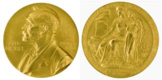 Nobel Prize medal for medicine