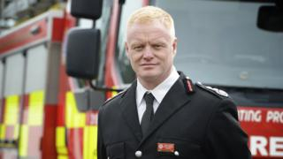 Chris Lowther, Tyne and Wear chief fire officer