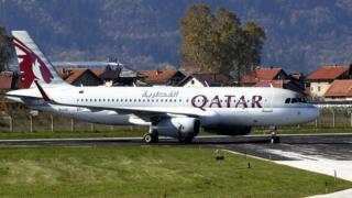 Qatar Airways uçağı