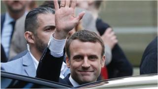 Sabon shugaban Faransa Emmanuel Macron