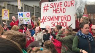 Swinford protest