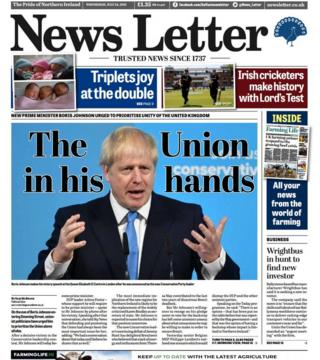 Newspaper review: Boris Johnson, gun attack and six newborn babies