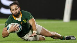 Cobus Reinach scores for South Africa