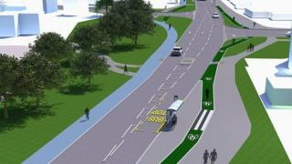New cycleway