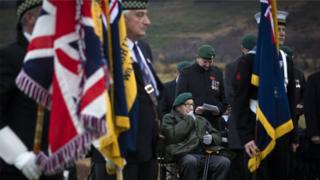 Former-Commando-Albert-McNickl-aged-94-from-Pershore-Worcestershire-at-the-Commando-Memorial-at-Spean-Bridge-near-Fort-William