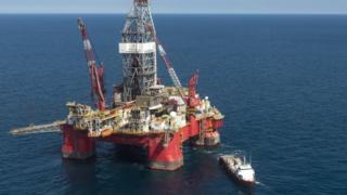 Pemex oil rig