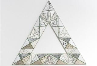 Triangle, by Monir Shahroudy Farmanfarmaian
