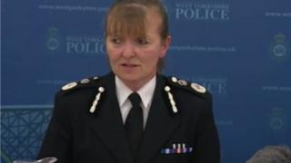 Chief Constable Dee Collins speaking in June