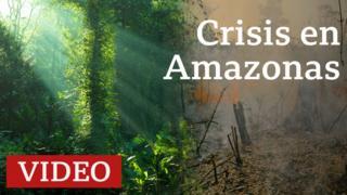 Incendios registrados en varios países amazónicos.
