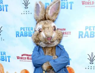The Peter Rabbit Movie Premiere in Los Angeles, 3 February 2018
