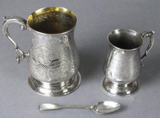 Cup awarded to Henry Cuttance by the King of Norway