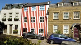 Zipporah Lisle-Mainwaring's house in Kensington