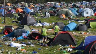 Festival-goers 'should pay £25 tent tax'