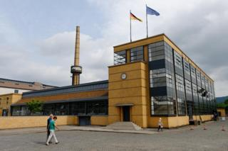 Exterior of the Fagus Factory