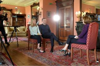 in_pictures Kate and Gerry McCann interview with the BBC's Fiona Bruce on 28 April 2017