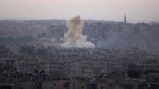 BMT-nin Hələbdə bombalamaya son qoymaq barədə verdiyi qətnaməsinə veto qoyub
