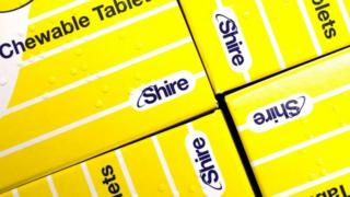 Shire tablet boxes