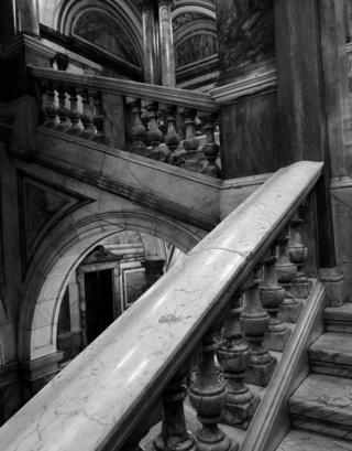 Stairs in Glasgow City Chambers