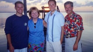 La familia Whitaker (Foto cortesía de Kent Whitaker)