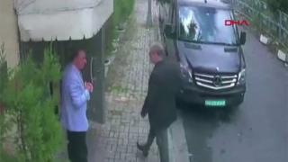 सीसीटीवी वीडियो में जमाल ख़ाशोज्जी