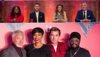 The judges and presenters from Let it Shine and the Voice