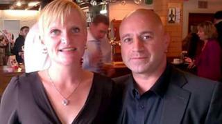 Lissa Beechey and Simon Aberstone