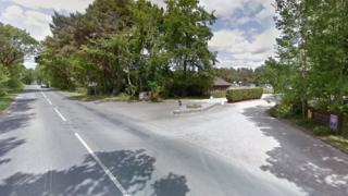 Bere Road close to Wareham Forest Tourist Park