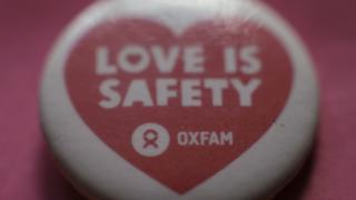 Oxfam badge