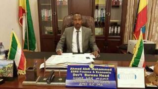 Pirezidantii haaraa naannoo Somaalee Ahimad Abdii Mohammad
