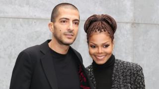 La cantante Janet Jackson con su esposo, Wissam al-Mana
