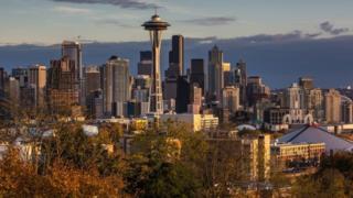 Seattle manzarası. Dosya fotoğrafı