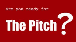 BBC School Report 'The Pitch' logo