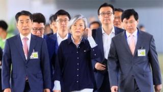 Ngoại trưởng Hàn Quốc Kang Kyung-wha nói bà sẵn sàng nói chuyện với người đồng nhiệm từ Bắc Hàn