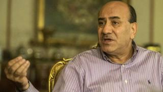 Hisham Geneina talks during an interview with AFP in Cairo on June 23, 2016