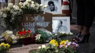 Memorial en honor a Aretha Franklin