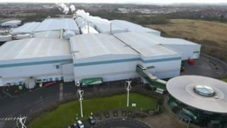 Waste treatment centre in Farington
