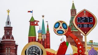 2018年世界杯将在俄罗斯举行。