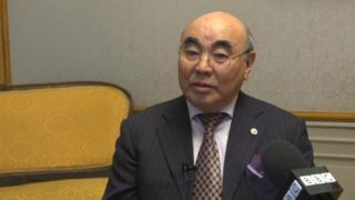 Кыргызстандын биринчи президенти Аскар Акаев