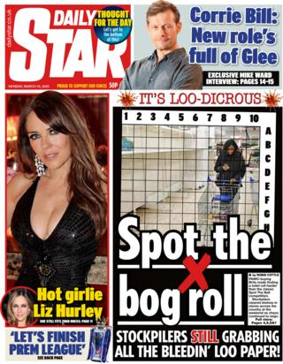 Daily Star 16 March