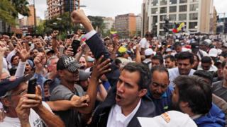 Juan Guaidó, ku wa gatatu witangaje nka Perezida w'inzibacyuho wa Venezuela, ni umukuru w'inteko ishingamategeko y'iki gihugu