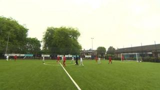 New pitch in Grangetown