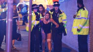 Woman injured in Manchester blast