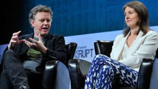 Cloudflare founders Matthew Prince and Michelle Zatlyn