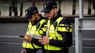 Polisi di Rotterdam, Belanda
