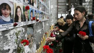 Панихида по жертвам теракта