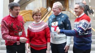 Politicians in jumpers