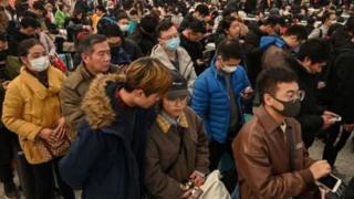 Jutaan warga China melakukan perjalanan di dalam dan luar negeri untuk Imlek.